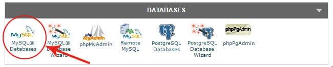Come creare database MySQL con Cpanel
