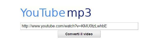 Come scaricare musica da YouTube con YouTubemp3