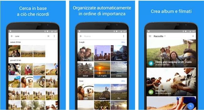 Google Foto organizza per trovare velocemente le tue foto