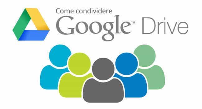 Come condividere Google Drive