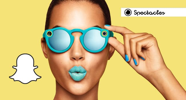 Snapchat Spectacles cosa sono