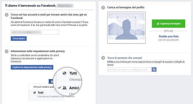 come creare pagina facebook per aziende profilo