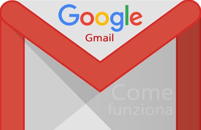 come funziona gmail
