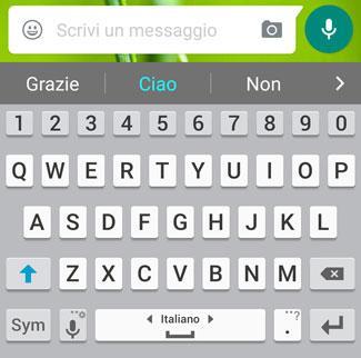 come funziona whatsapp scrivi messaggi testo