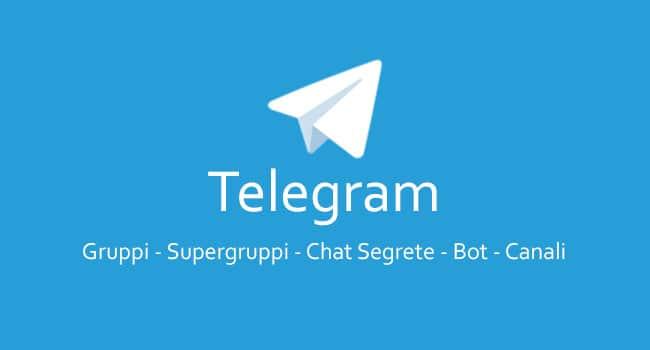 Telegram Gruppi Supergruppi Bot Canali