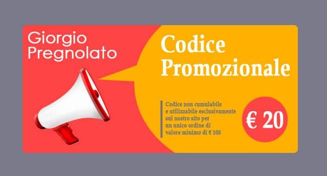 codice promozionale sconto ecommerce
