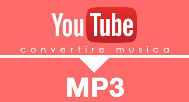 convertire musica da youtube