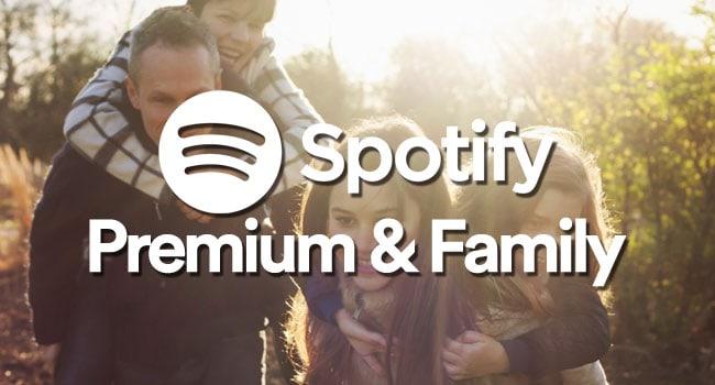 spotify premium e family