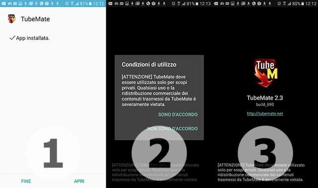 app tubemate per android