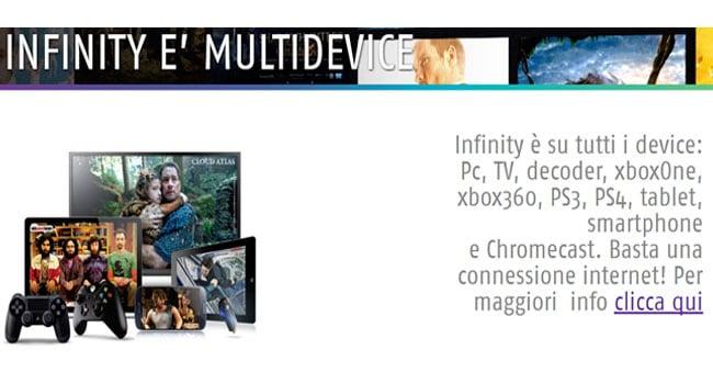 infinity multidevice