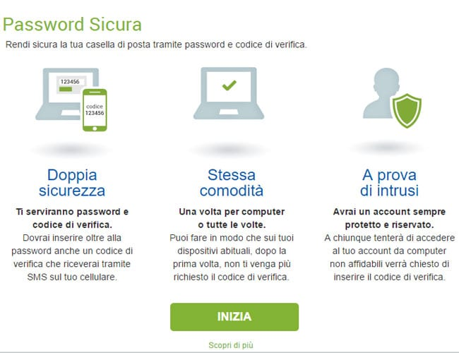 libero mail password sicura