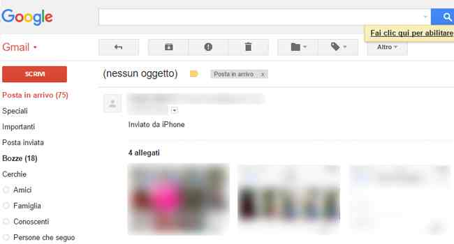 allegati mail iphone