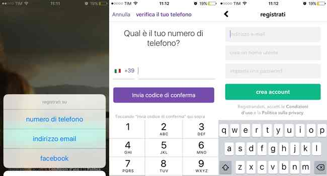 creazione account musically
