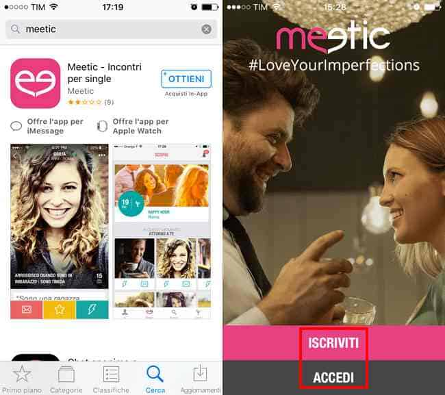 download app meetic