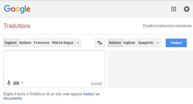 google translate google traduttore