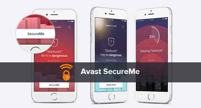 avast secure me mobile