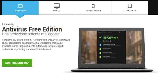 bitdefender free edition antivirus gratis