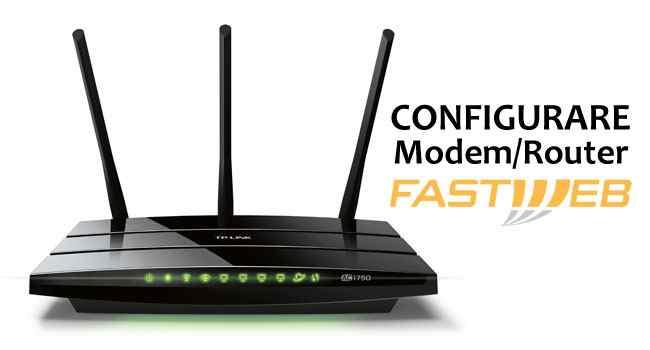 come configurare modem con fastweb
