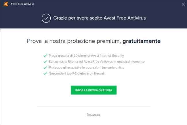prova gratuita avast internet security