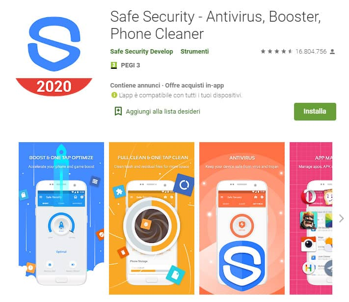 safe security antivirus