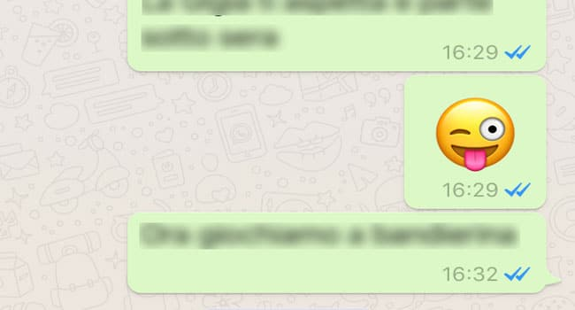 spunte whatsapp