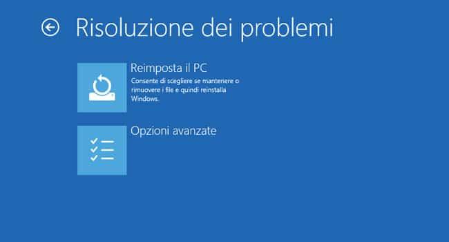windows 10 modalità provvisoria risoluzione problemi
