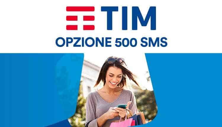 TIM Opzione 500 SMS