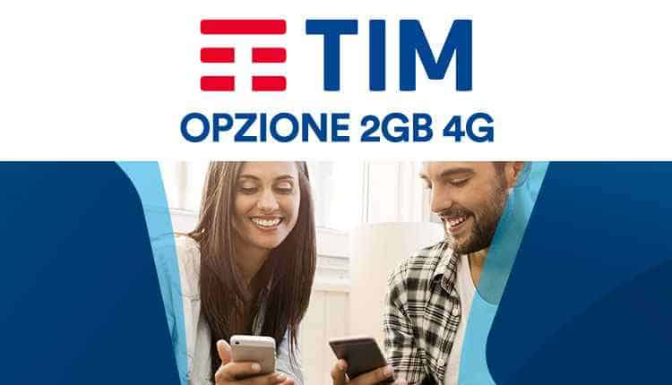 TIM Opzione 2GB internet 4G