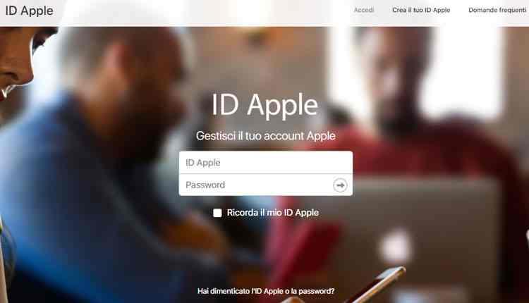 come funziona icloud registrazione id apple