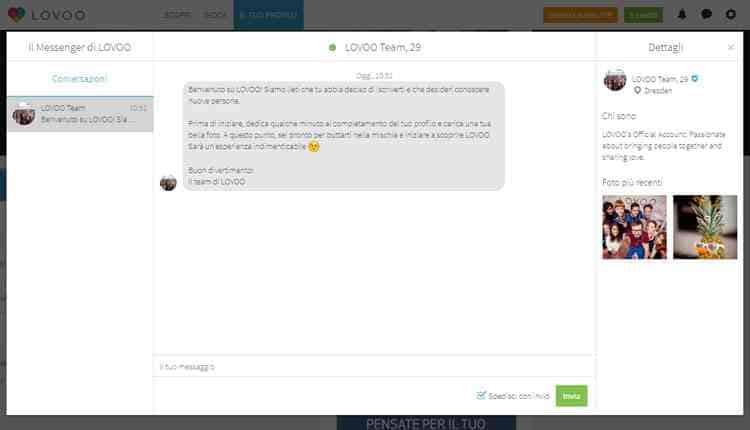 come funziona lovoo chat