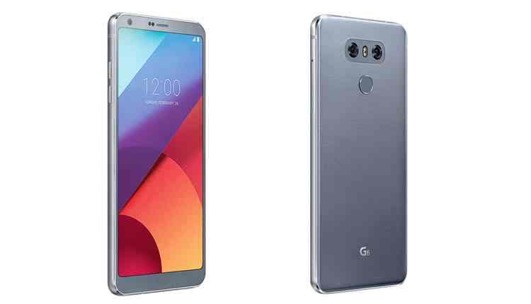 migliori android 2017 lg g6