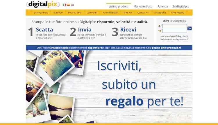 migliori servizi stampa foto online digitalpix