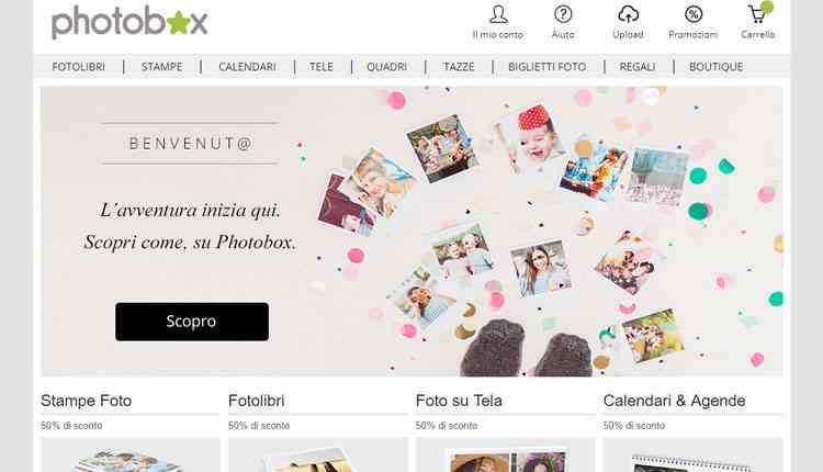 migliori servizi stampa foto online photobox
