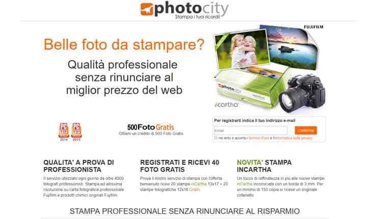 migliori servizi stampa foto online photocity