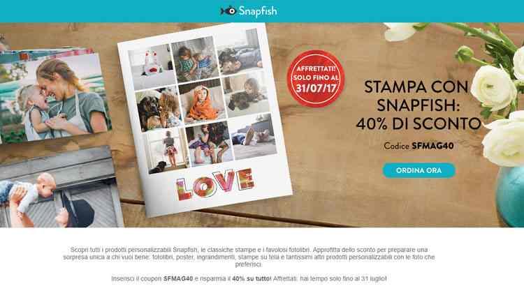 migliori servizi stampa foto online snapfish
