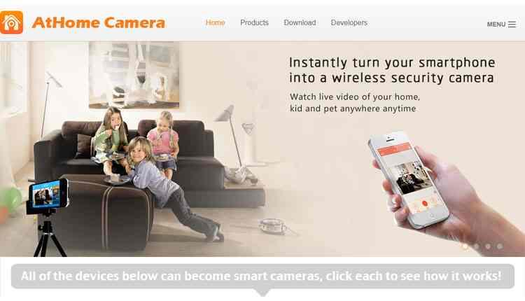 migliori siti videosorveglianza AtHome Camera