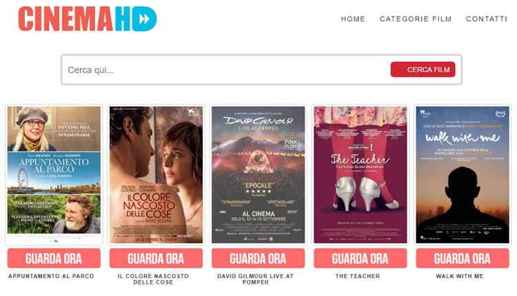 siti film streaming cinema hd