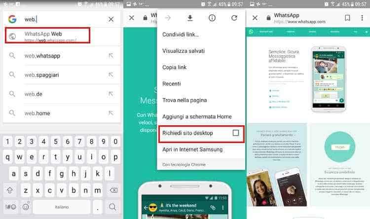 installare whatsapp senza sim