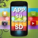 Come spostare App su scheda SD