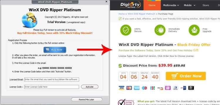 acquisto licenza winx dvd ripper platinum