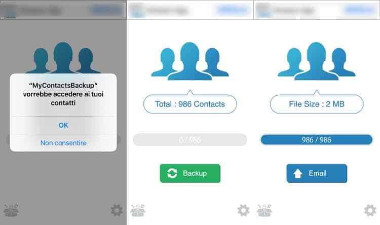 passare-contatti-iphone-su-sim-con-appmy contacts backup