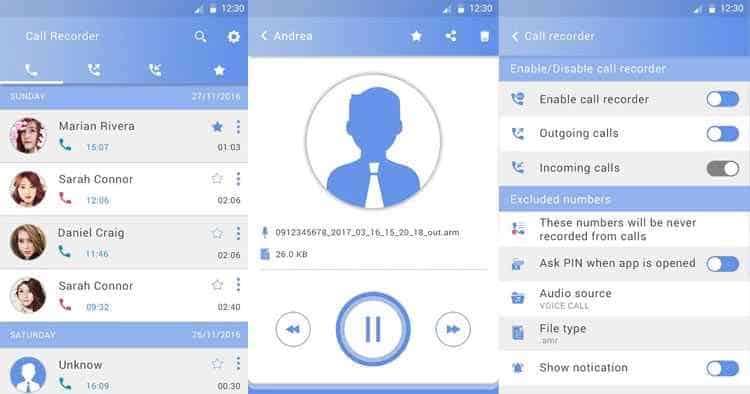 registratore di chiamata TOHsoft Android
