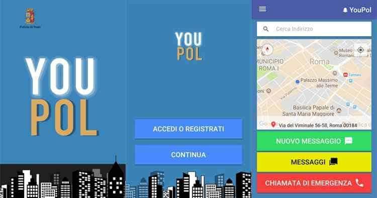 youpol app antibullismo
