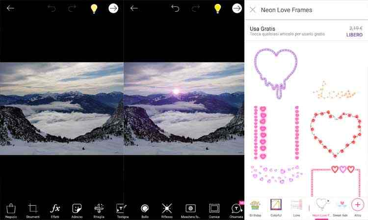 PicsArt Photo Studio app modifica foto android