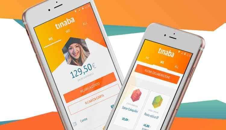come funziona tinaba app gestione denaro