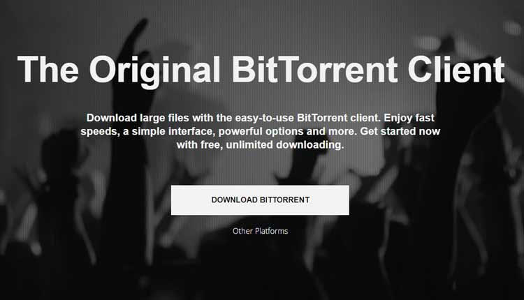 bitTorrent client Torrent