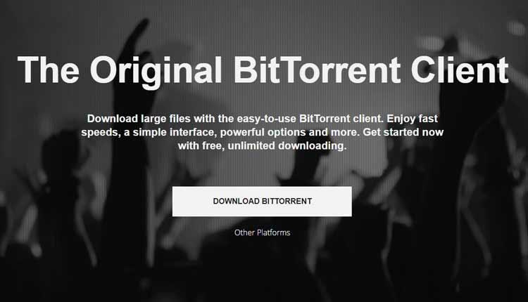 bitTorrent client Torrent