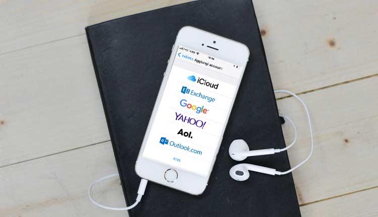 contatti google su iphone