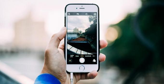 come fare video a schermo iphone