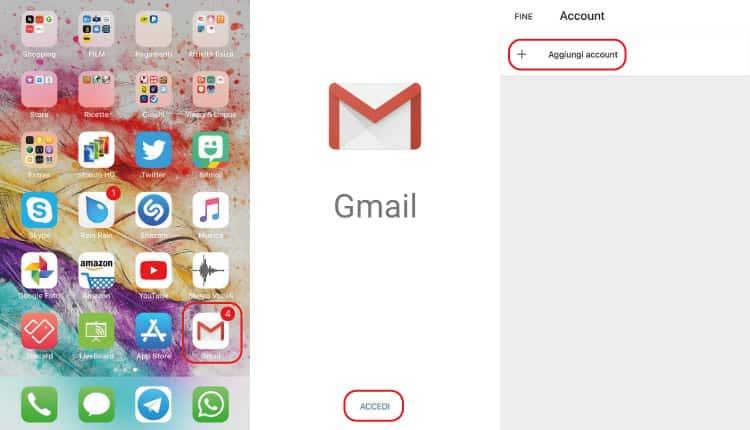 Come Configurare Nuovo Account Gmail Su iPhone App Gmail